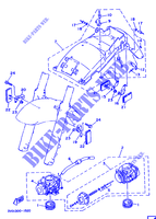 ALTERNATIVA CARBURADOR / CHASSIS para Yamaha TDM850 1993